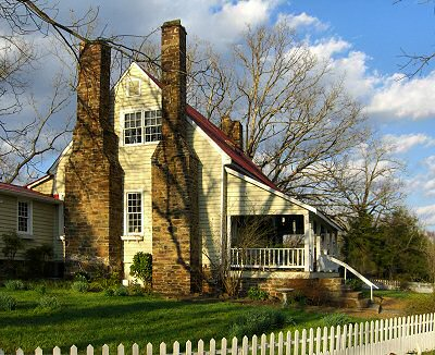 American colonial architecture and other vintage styles for American colonial architecture
