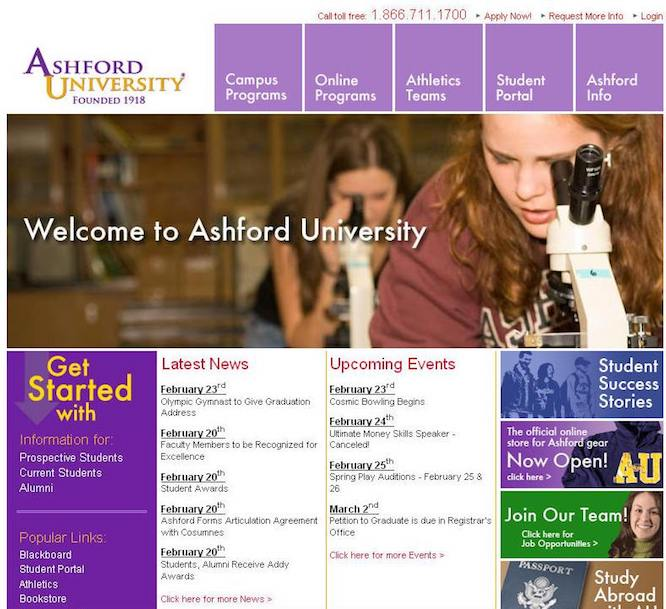Drivers Ed Online >> Ashford University - A Quick And Easy Guide To Your Success