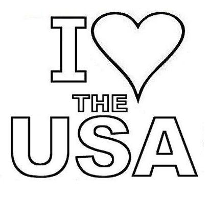 USA Coloring Pages To Print