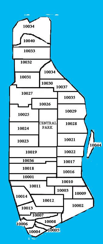 Zip Code Maps Free Printable USPS Zip Codes